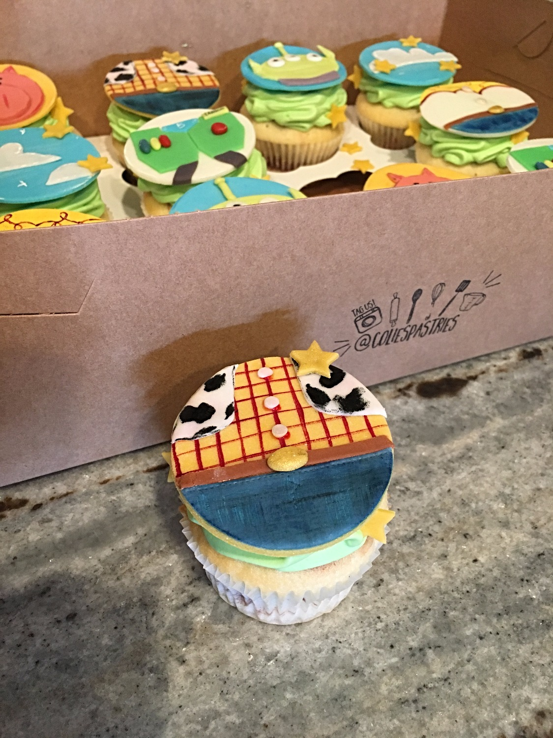 Toy Story Cupcake