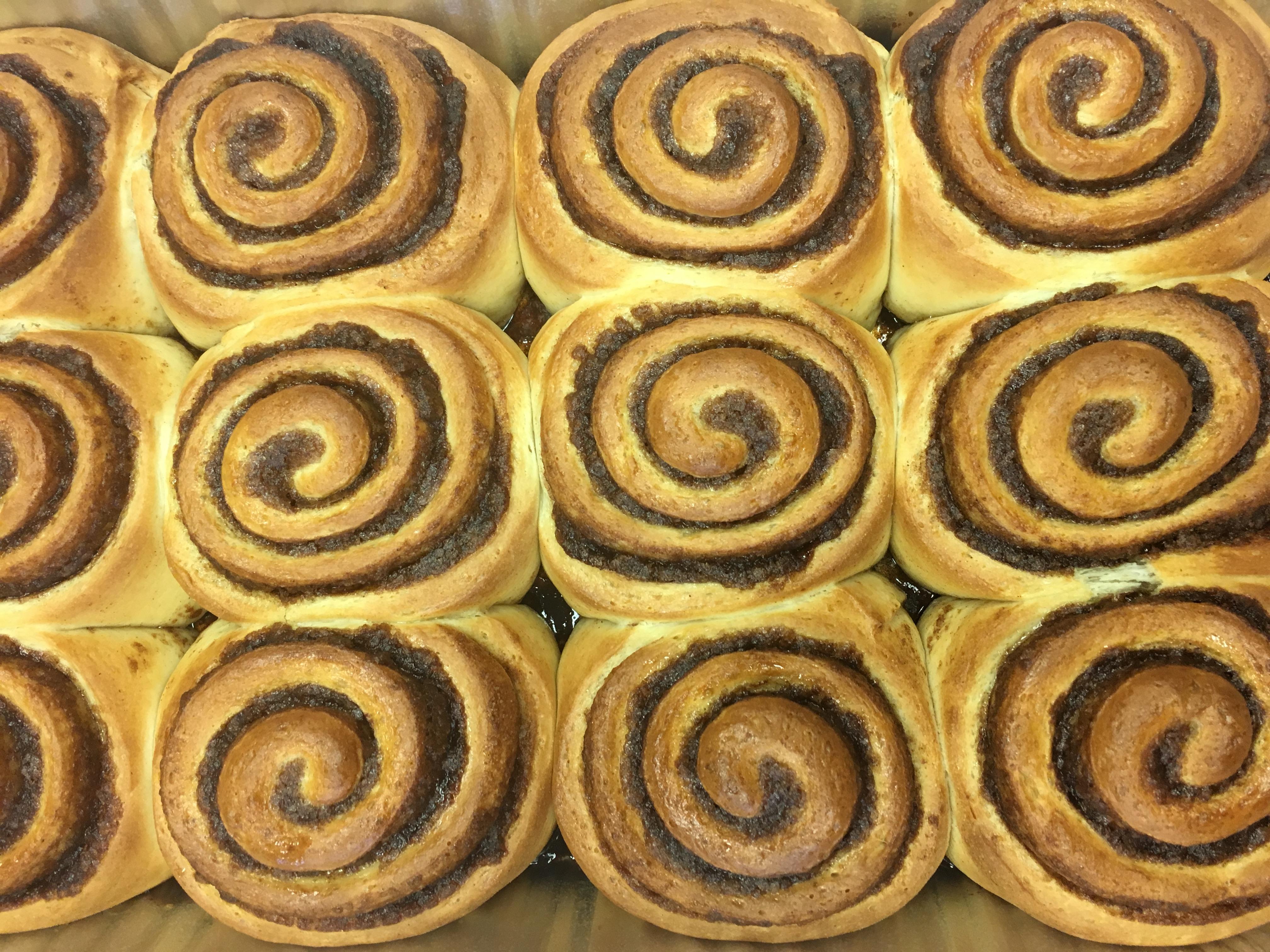 Naked Cinnamon Rolls