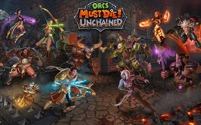 PAX EAST- Hands on Orcs Must Die! Unchained