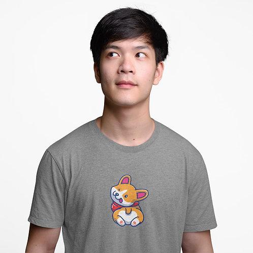 Fluffy Corgi Unisex Premium T-Shirt