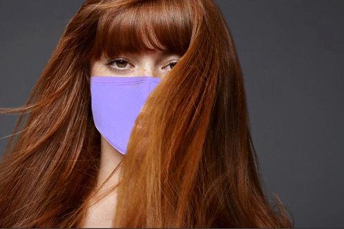 Cotton Face Cover  (Lavander)