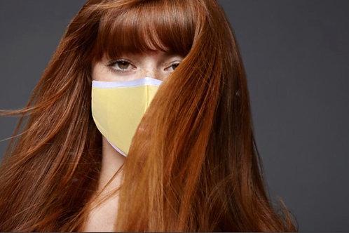 Cotton Face Cover (Lemon)
