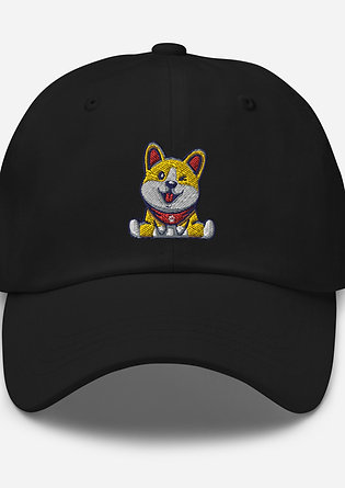 Cheerful Corgi Hat