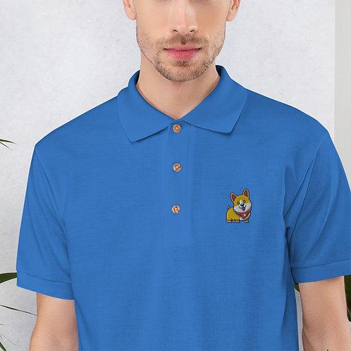 Happy Corgi Polo Shirt