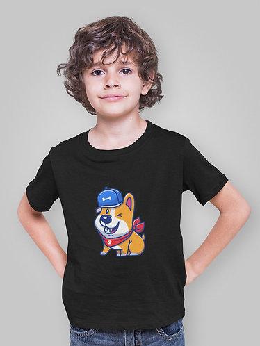 Sporty Corgi Youth T-Shirt