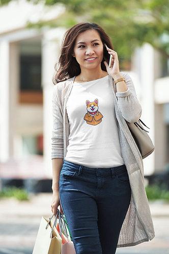 Boxie Corgi Unisex Premium T-Shirt