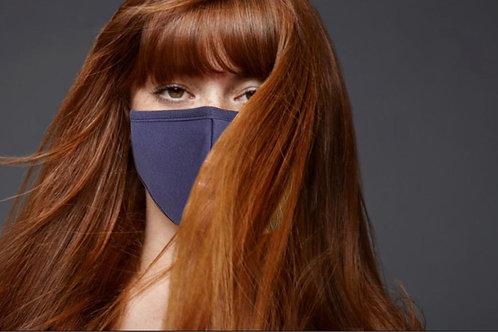Cotton Face Cover  (Navy)