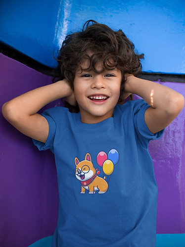 Ballooning Corgi Youth T-Shirt