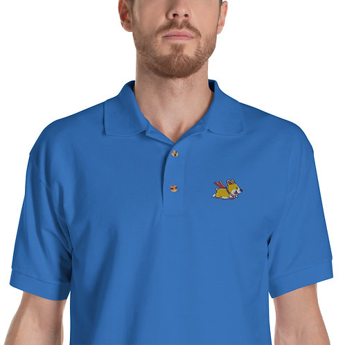 Superb Corgi Polo Shirt