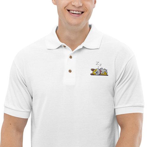 Sleepy Corgi Polo Shirt