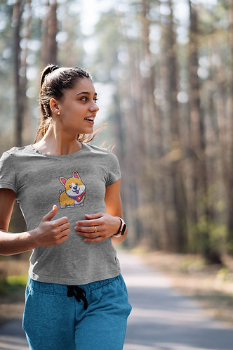Happy Corgi Unisex Premium T-Shirt