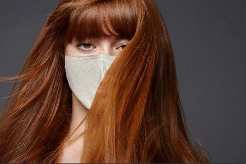 Cotton Face Cover  (Light Gray)