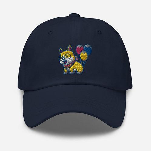 Ballooning Corgi Hat
