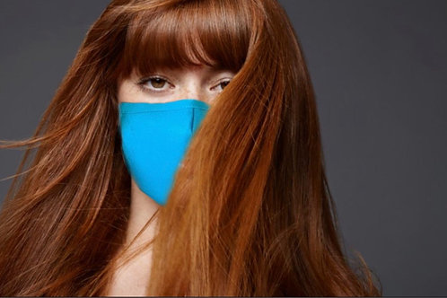 Cotton Face Cover (Teal)
