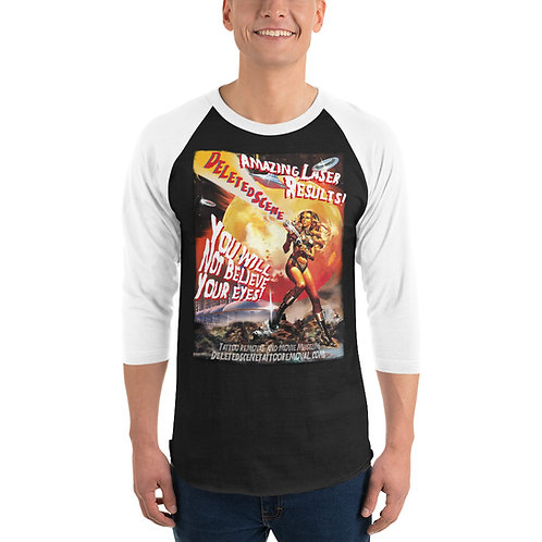 Sci-Fi Movie 3/4 Sleeve Raglan Unisex Shirt