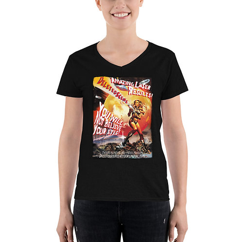 Sci-Fi Movie Women's V-Neck Shirt