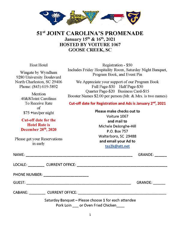 2021 Joint Carolina Registration Form.cl