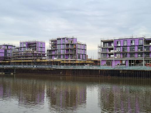 Inspired Scaffolding at Trent Bridge Quays