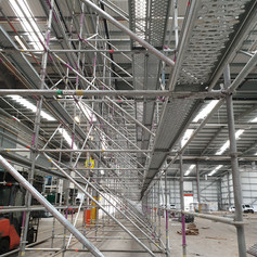 System Scaffolding IAC Building Birmingh