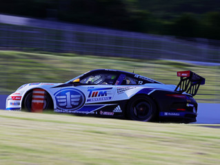 CHRIS VAN DER DRIFT TAKES PCCA PODIUM, BAMBER FOURTH