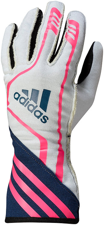 RSR Glove - White/Navy/Pink