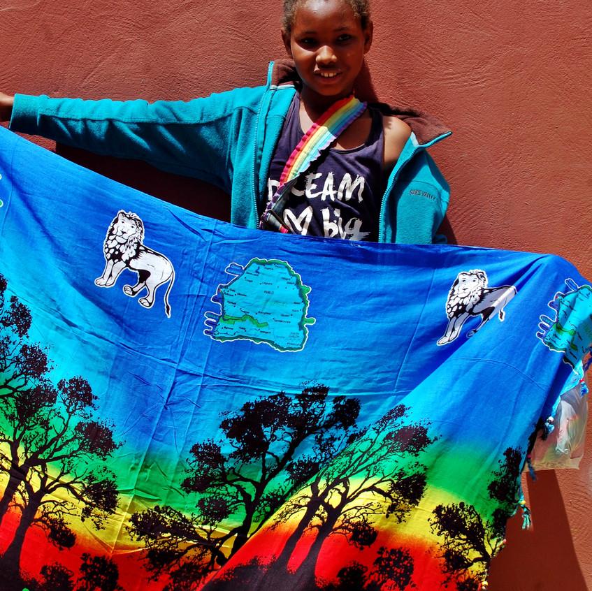 세네갈 소녀