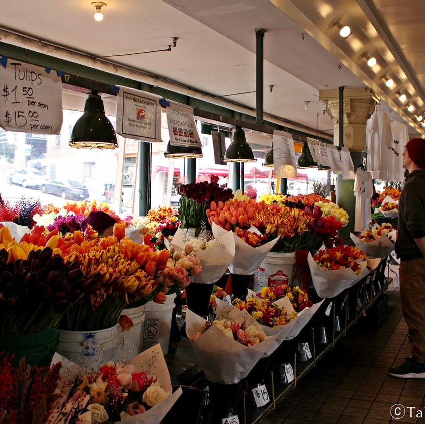 파이크 플레이스 마켓 Pike place market