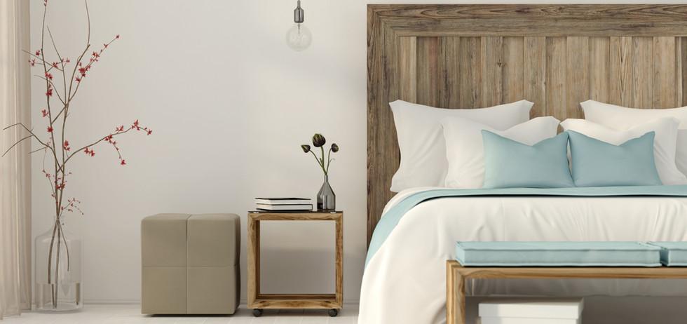 Decorated Bedroom