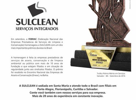 Troféu Prêmio Mérito em Serviços