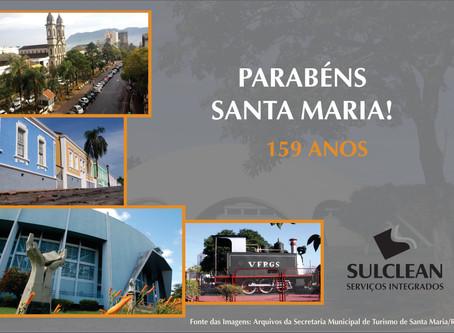 Parabéns Santa Maria!