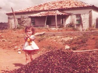 Roberta Bazilli quando criança