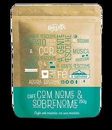 Embalagem Café Bazilli Café Torrado e Moído