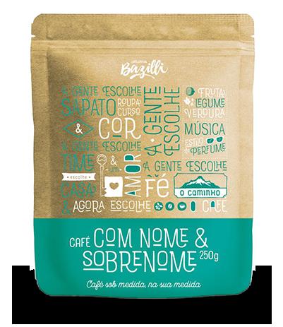 Café com Nome e Sobrenome - 250g
