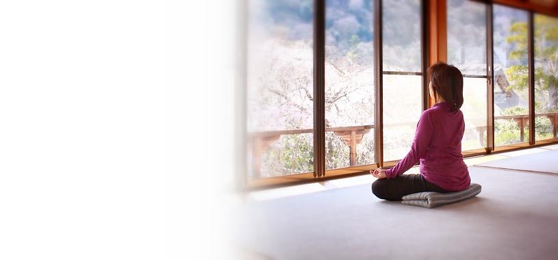 京都でヨーガ お寺でヨーガ