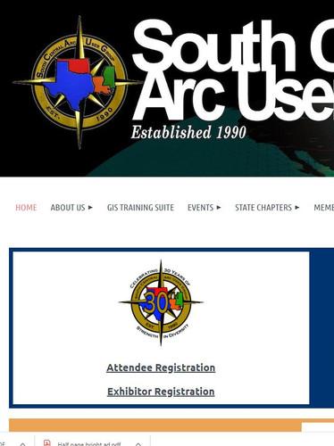 SCAUG website header