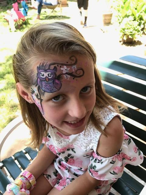 Cute facepaint for kids!