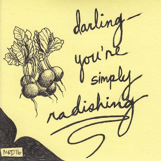 Simply Radishing - line