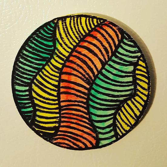undulate magnet