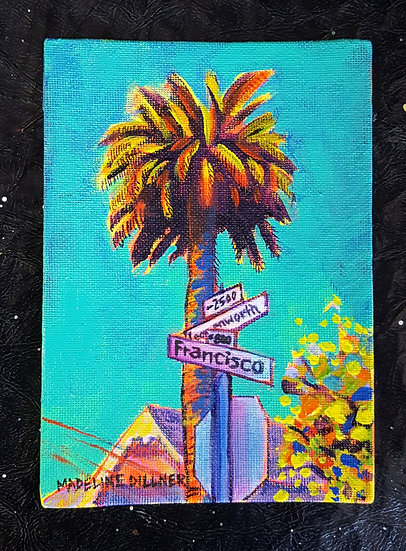 The Palm at the Corner of Francisco and Leavenworth