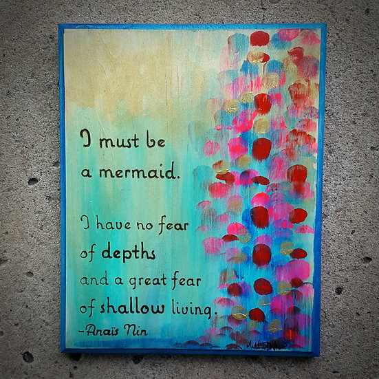 No Fear of Depths
