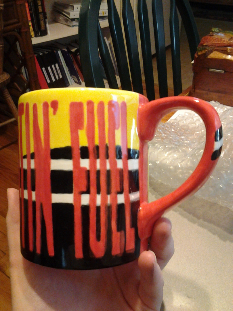 Customed Painted & Fired Mugs