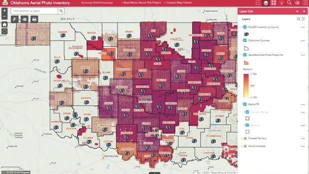 Oklahoma Aerial Photo Inventory