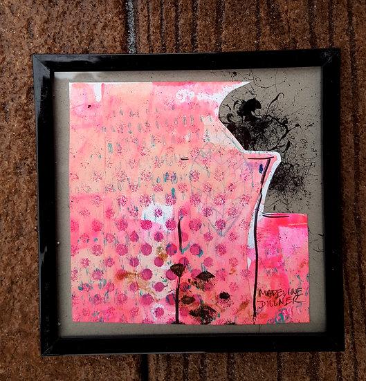 Pink City - 4x4 - splatter