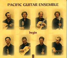 Pacific Guitar Ensemble CD