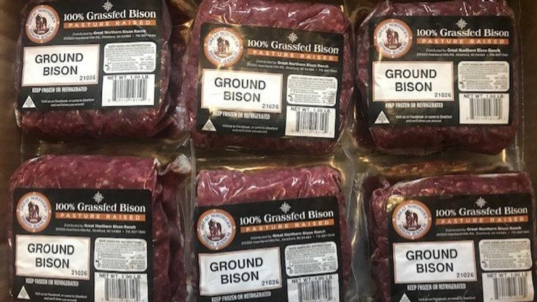 Ground Bison - 44lb Box