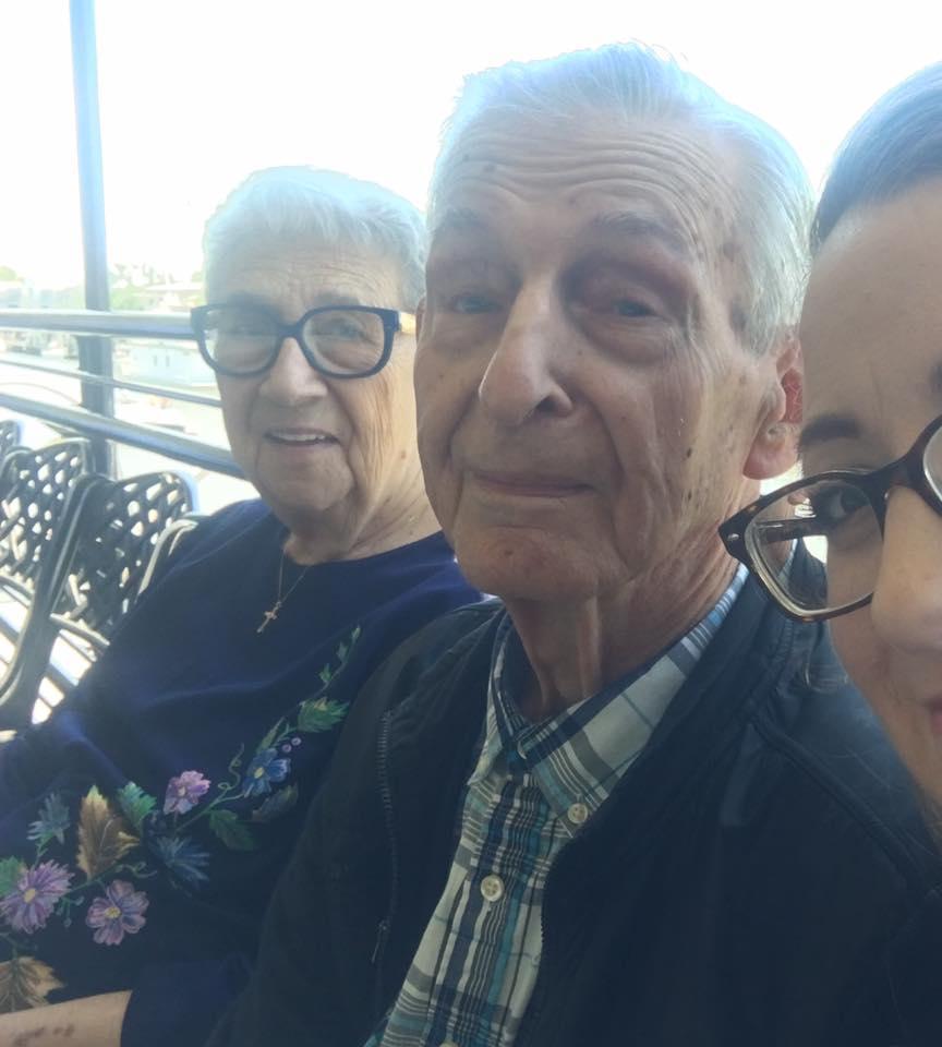 Grandma and Grandpa Jeansonne