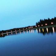 Cobbs Hill reservoir dusk fave shot IG a