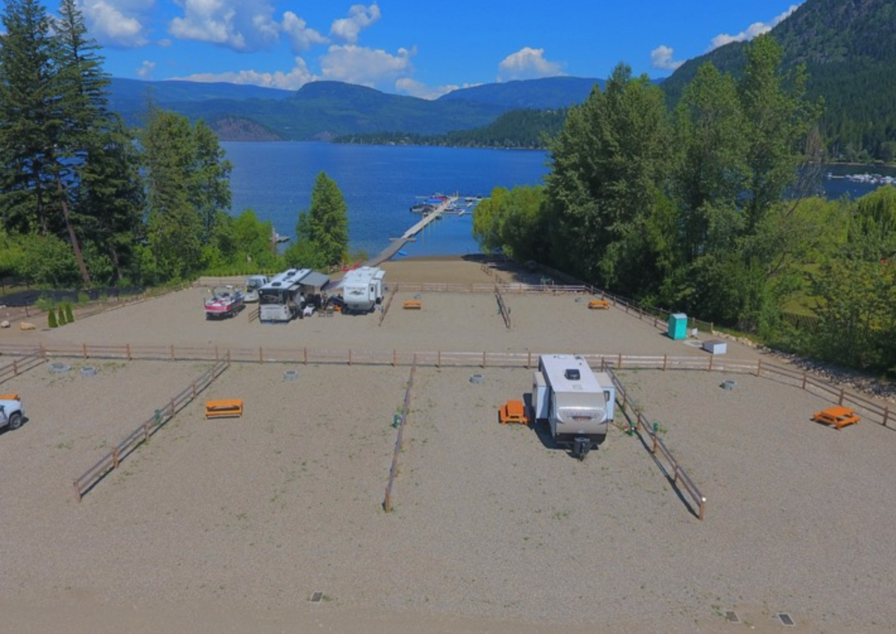 Waterfront Cottage Lots for Sale on Shuswap Lake