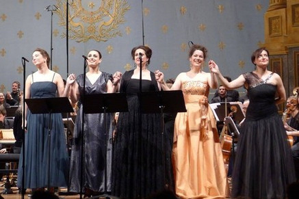 """In Review: Lenormand hailed for her solid voice and plump timbre in """"Persée"""" with Arsenal de Metz"""
