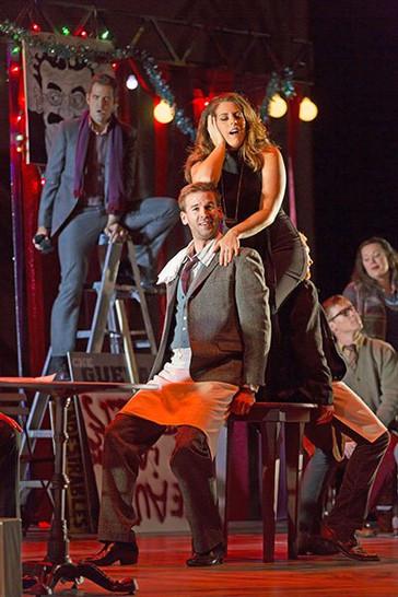 "The reviews are in for Emily Birsan, soprano and David Angus in Boston Lyric Opera's ""La bohème""!"